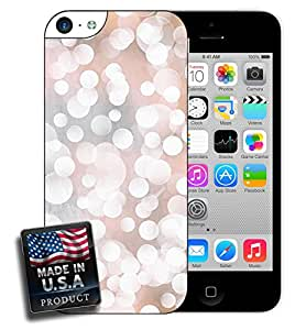 Bokeh White Circles Bubbles Photography iPhone 5c Hard Case