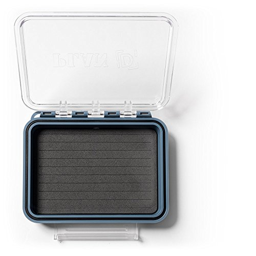 (Plan D Fly Box Pocket Standard, Blue/Clear )