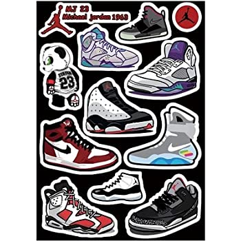 Amazon Com Air Jordan Nike Jumpman Logo Vinyl Sticker