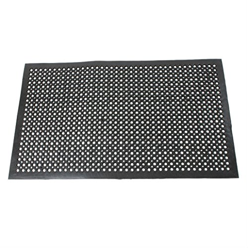 Black Indoor Commercial Industrial Durable Anti-Fatigue Floor Mat 36'' x 60'' by Unknown (Image #3)