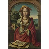 Canvas Prints Of Oil Painting ' Netherlandish The Magdalen ' , 24 x 36 inch / 61 x 91 cm , High Quality Polyster Canvas Is For Gifts And Bath Room, Game Room And Garage Decoration, largewall art