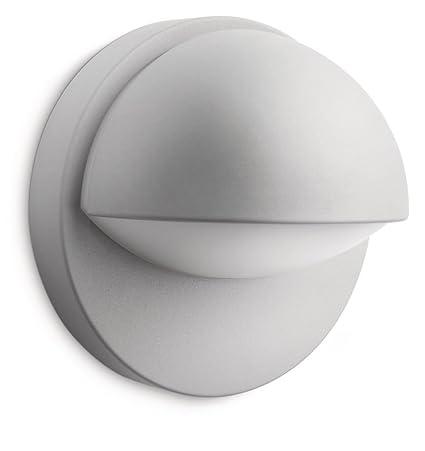 Philips myGarden June - Aplique para exterior, sin sensor de movimiento, luz blanca cálida