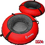 Search : 2 Pack Bradley River Tube with Linking Heavy Duty Cover (Red)