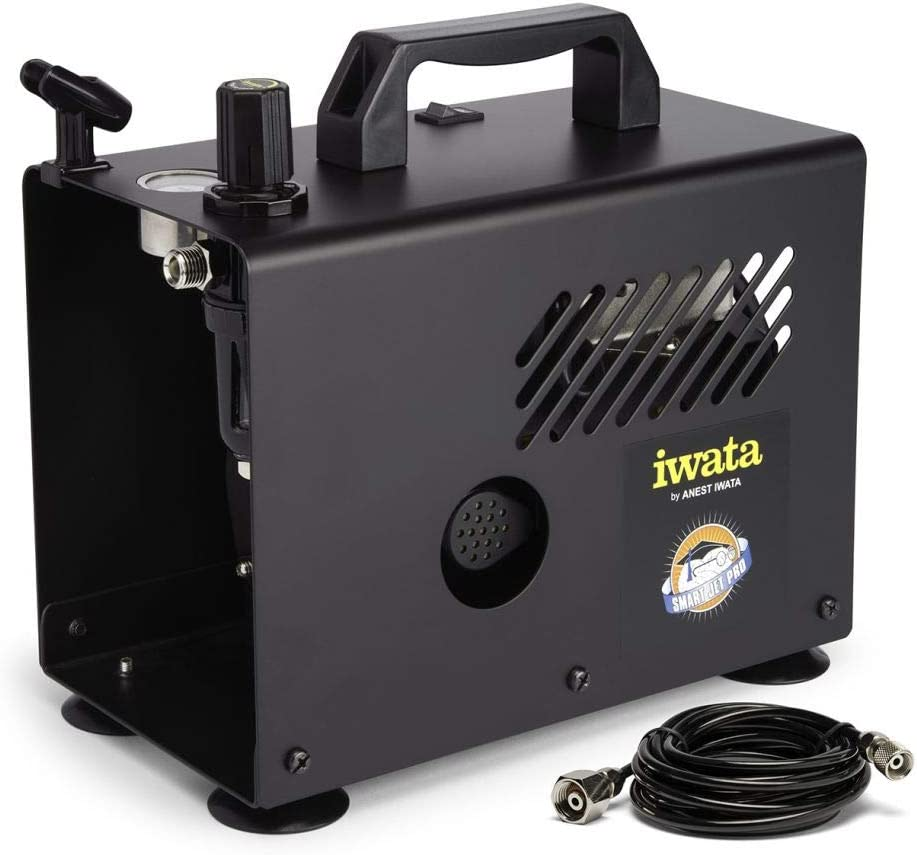 Iwata-Medea Studio Series Smart Jet Pro Single Piston Air Compressor
