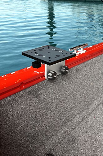 - Brocraft Universal Aluminum Downrigger Bracket for Tracker Boat Versatrack System / 90 Degree Lund Sport Track-Versatrack Accessories
