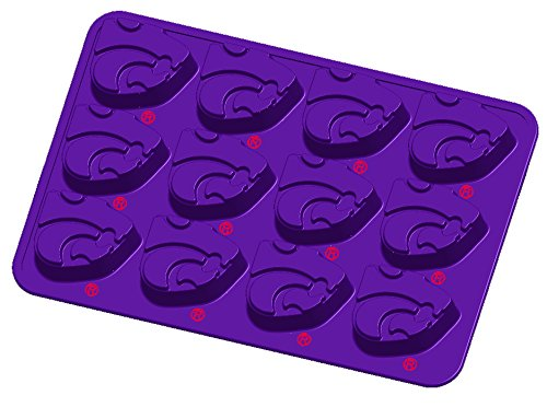 State Candy Mold (NCAA Kansas State Wildcats Ice Trays & Candy Mold, One Size, Purple)