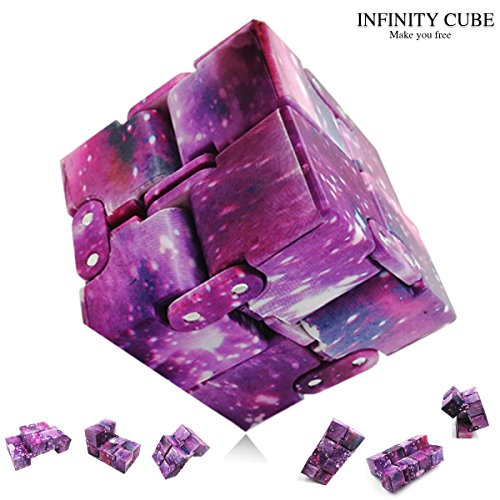 New Fashion Interstellar Infinity Cube Fidget Cube Anti Stress Adults Kids Gift EDC for ADHD Funny Finger Toys
