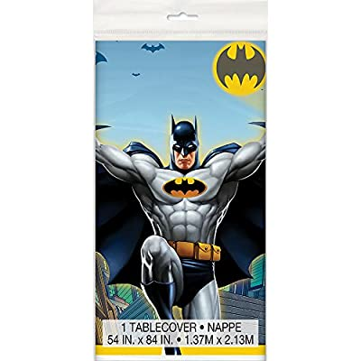 Batman Plastic Tablecloth, 84
