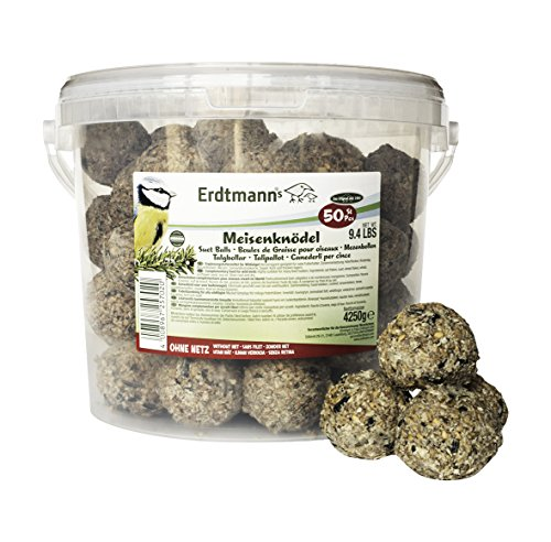 Erdtmanns Suet Balls, no nets, in Tub (Pack of 50) (50 Ct Tub)
