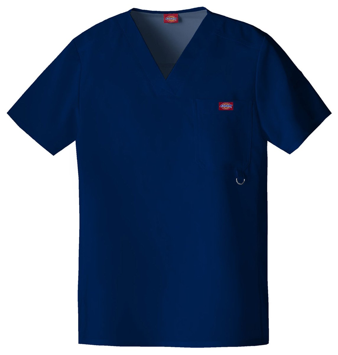 Dickies Men's Top-Stitched V-Neck Top_D-Navy_XX-Large,81910