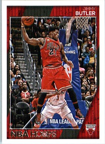 (2016-17 Panini NBA Hoops #12 Jimmy Butler Chicago Bulls Basketball Card-MINT)