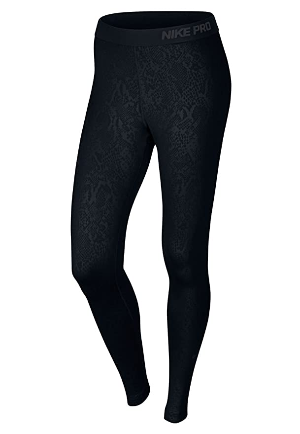 77559c2e39da1 Nike Women's Pro Warm Embossed Heights Vixen Tights (MEDIUM, BLACK):  Amazon.co.uk: Sports & Outdoors