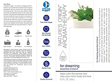 Nature's Origin™ Aromatherapy for Dreaming Essential Oil Blend, 15 ml