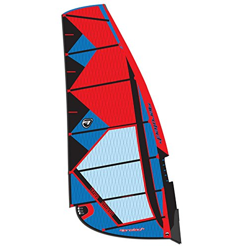 Aerotech Sails 2017 Freespeed-6.5-Red Windsurfing Sail Windsurfing Boom