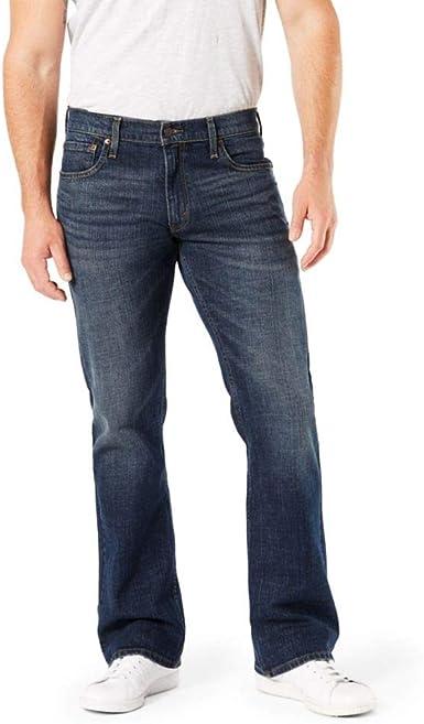 Amazon Com Por Levi Strauss Co Gold Label Pantalones De Mezclilla Para Hombre Con Corte De Bota Clothing
