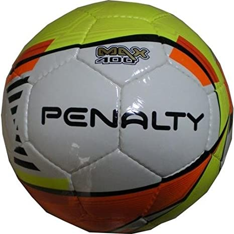 PENALTY Max400 - Balón de fútbol Sala, Color Blanco/Lima/Naranja ...