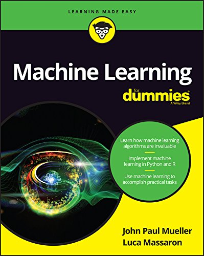 Machine Learning For Dummies cover