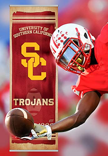 - FanPanels USC Trojans NCAA Canvas Decorate Any Door, Wall or Hallway. Instant Decor for Your Dorm Room, Home, Office or Man cave. Easy to Install.
