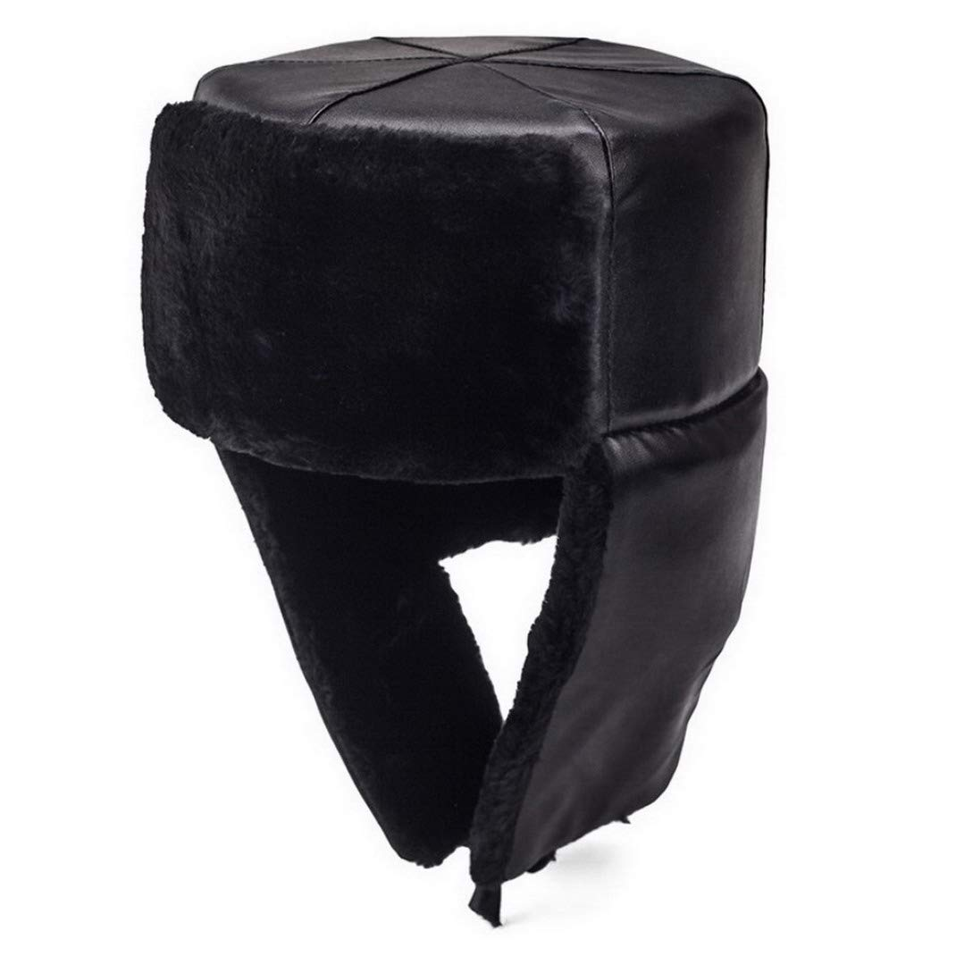 AOOPOO Winter Men Bomber Hats Warm Trapper Hat with Ear Face Mas Winter Windproof Hats for Skiing,Skating and Climbing,Dog Walking