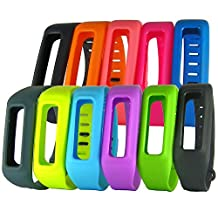 HopCentury Replacement Fitbit One Wrist Band Wristband Strap Bracelet Accessory with Metal Clasp Fastener for Fitbit One Activity Tracker