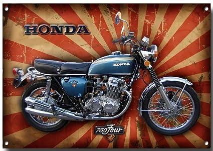 Honda CB750 metal sign A4size vintage sign designs