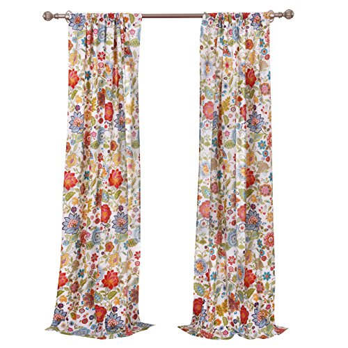 Greenland Home Astoria Curtain Panel Pair, 63