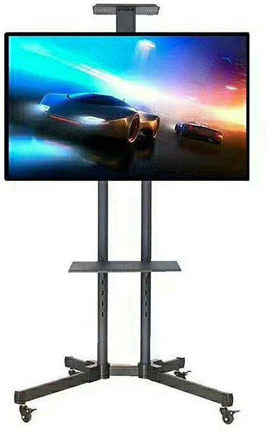 Exing Mueble TV Stand, Ajustable Altura Móvil TV Carro LCD LED ...