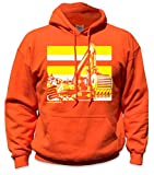 SafetyShirtz Excavator Safety Hoody Orange w/ Yellow 3XL