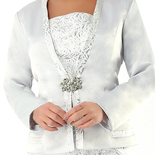 Kueeni Women Church Suits With Hats Church Dress Suit For Ladies Formal Church Clothes,Suits Only,020 by Kueeni (Image #4)