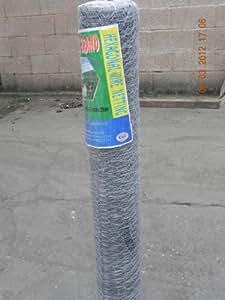 Gallina/de alambre para conejos red 600 x 25 x 50 mtr (0,9 mm) 60,96 cm - WL sports