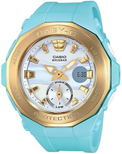 CASIO BABY-G G-LIDE Beach Glamping Series BGA-220G-2AJF Women's Watch JAPAN IMPORT