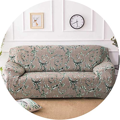 Floral Sofa Cover Slipcovers Elastic Stretch Tight Wrap Sofa Couch Cover,Color 9,4-Seater 235-300Cm (Outdoor Furniture Nc Charlotte)