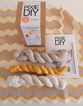 Lujo ganchillo bebé Manta - 100% suave lana de cordero ...