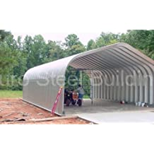 Duro Span Steel G20x20x12 Metal Building Kit Factory Direct New DIY Carport Workshop Shed