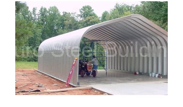low priced ddebb 9d2f9 Amazon.com: Duro Span Steel G25x30x13 Metal Building Kit ...
