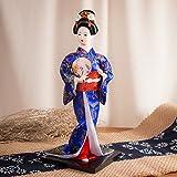 """12"""" Japanese GEISHA Oriental Doll ZS8033-12"""