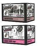 k cups dark roast brooklyn - Brooklyn Bean Roastery K-Cup Coffee 2 Flavor Variety Bundle: (1) Fuhgeddaboutit Dark Roast, and (1) Corner Donut Shop Medium Roast, 12 Single Serve Cups Each