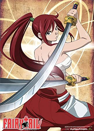Officially Licensed Fairy Tail Erza Wall Scroll