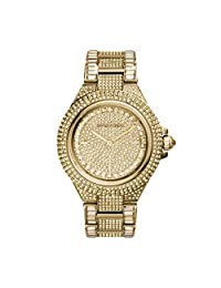 Michael Kors Women's MK5720 Camille Pavé Quartz Gold-Tone Stainless Steel Watch