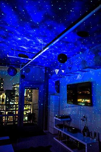 Room Lighting Design Software: Laser Projector W/LED Nebula Cloud