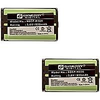 Panasonic KX-TGA650B Cordless Phone Battery Combo-Pack includes: 2 x SDCP-H326 Batteries
