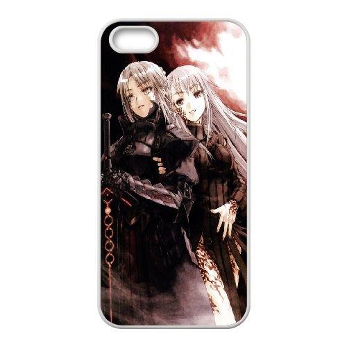 Fate Stay Night 002 2 coque iPhone 4 4S Housse Blanc téléphone portable couverture de cas coque EOKXLLNCD13232