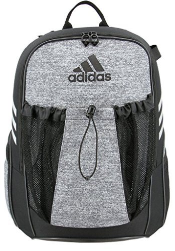 Soccer Gym Bag - adidas Utility field backpack, Jersey Onix, One Size