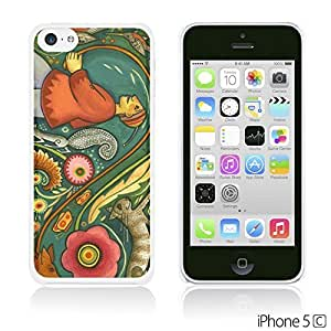 OnlineBestDigitalTM - Flower Pattern Hardback Case for For Iphone 4/4S Cover - Spring Flower