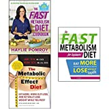 Haylie pomroy fast metabolism diet cookbook [ Hardcover] and effect and beginners 3 books collection set