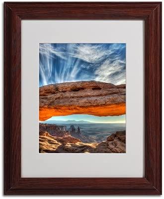 Marca Fine Art Mesa Arch Sunrise 2 por Pierre Leclerc Lienzo Obra ...