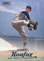 2017 Topps Stadium Club Baseball #168 Sandy Koufax Dodgers
