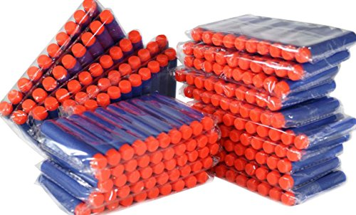 Buy Nerf Compatible Bullets Darts Hard and Soft Tip for Elite N Strike Refill Series 200 or 300 or 4...
