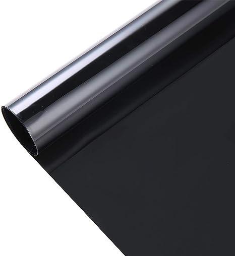 Transparent Window Film Anti UV Heat Solar Tint Self Adhesive Color Glass Decor