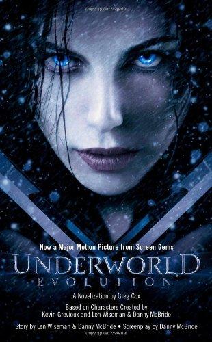 Underworld  Evolution  Underworld  Pocket Star Books